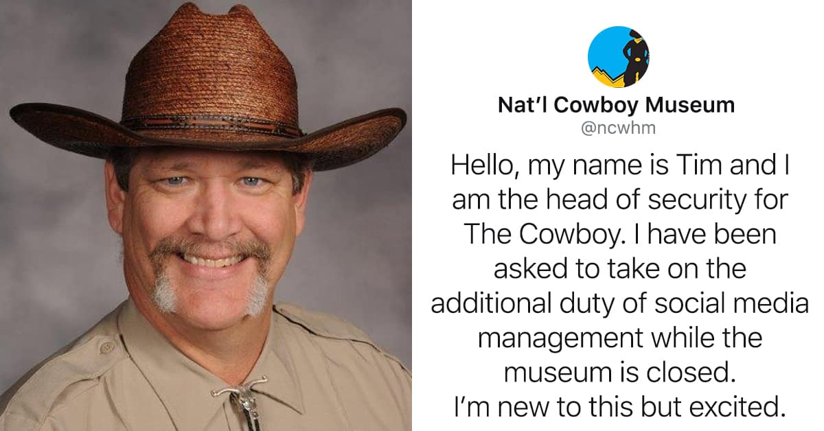 cowboy museum security guard