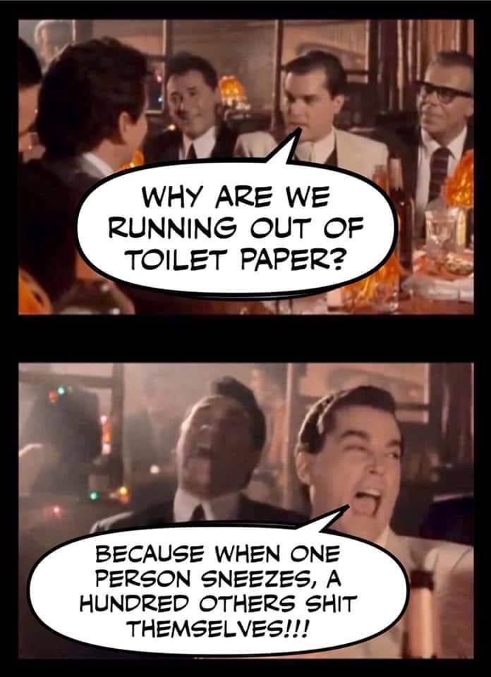 We May Run Out Of Toilet Paper, But We'll Have Toilet Paper Memes