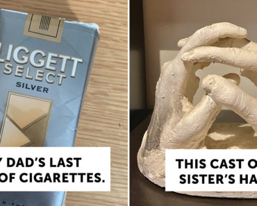 most treasured objects