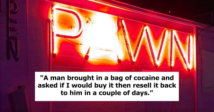 """25 Pawnshop Employees Share The """"Most Illegal Thing"""" A Customer Tried To Pawn"""