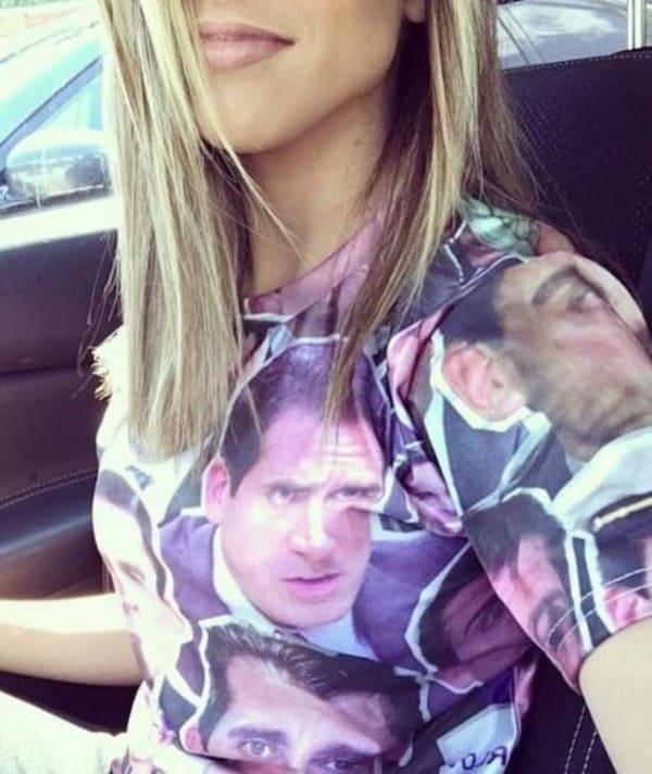 michael scott shirt funny picture