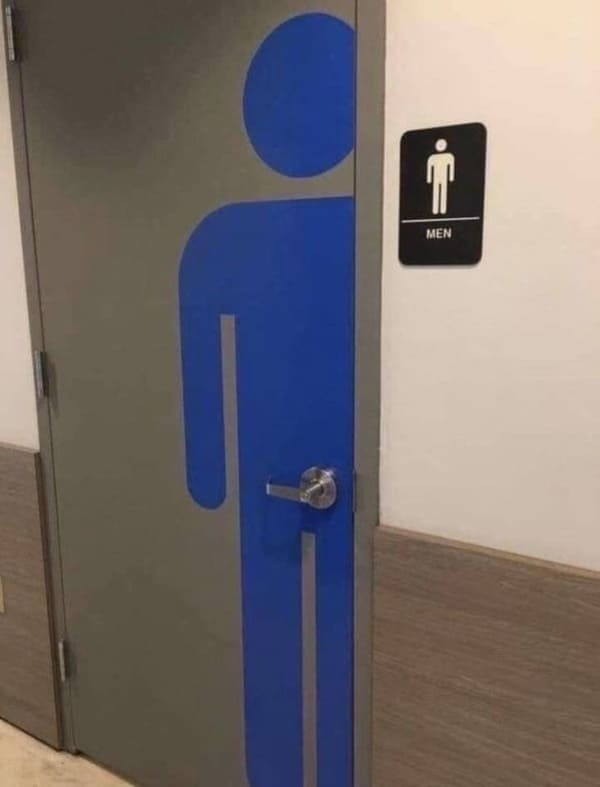 door handle on bathroom image crotch funny picture