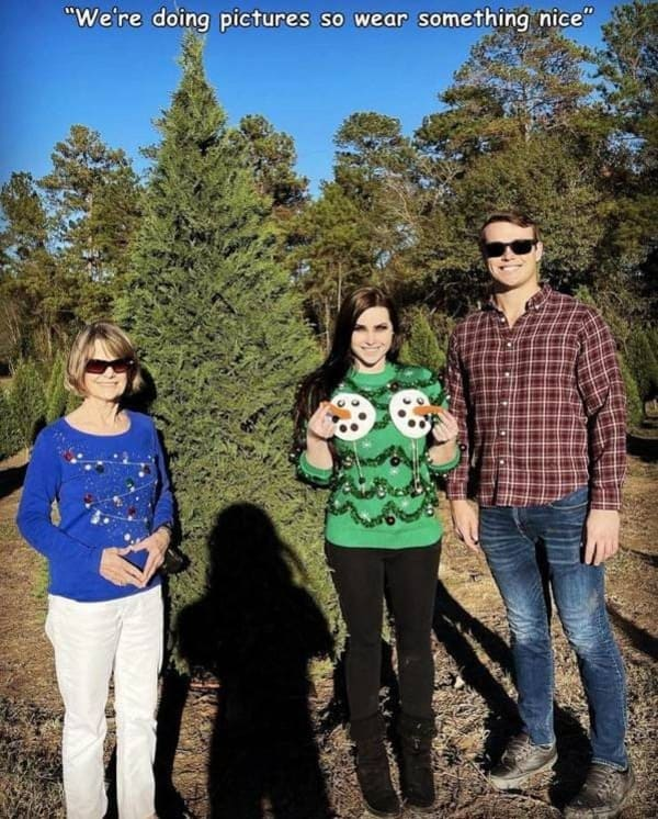 christmas sweater funny picture