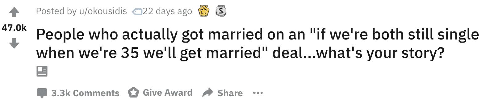 marriage pact, marriage pact stories, marriage pact askreddit