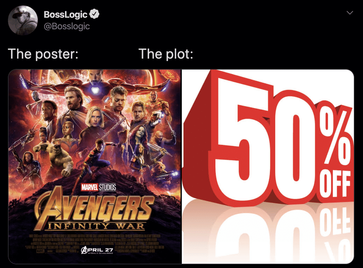 the Plot, Avengers: Infinity War (2018)