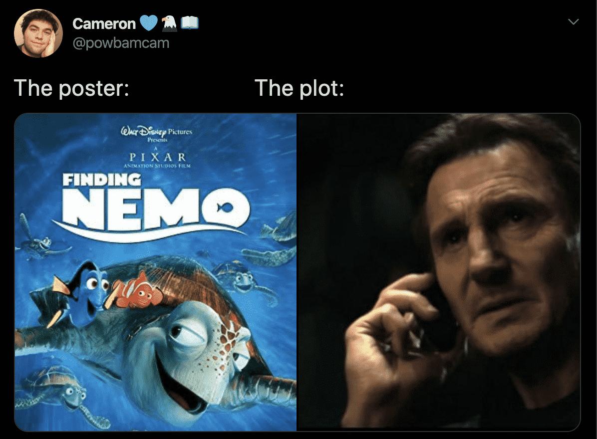 the Plot, Finding Nemo (2003)