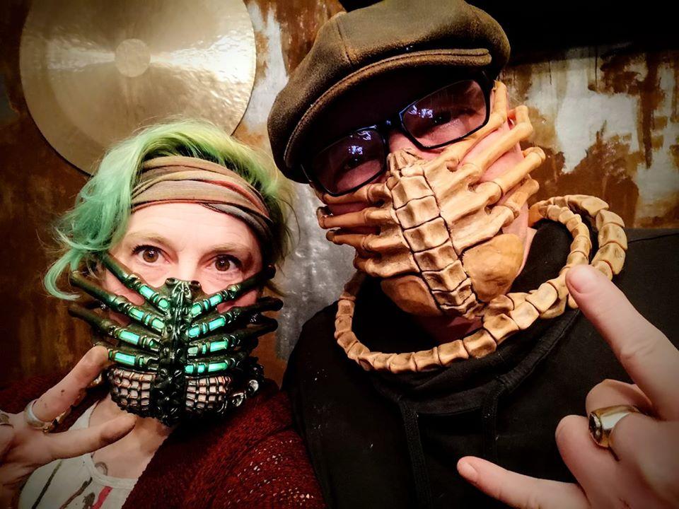 facehugger mask, alien facehugger mask