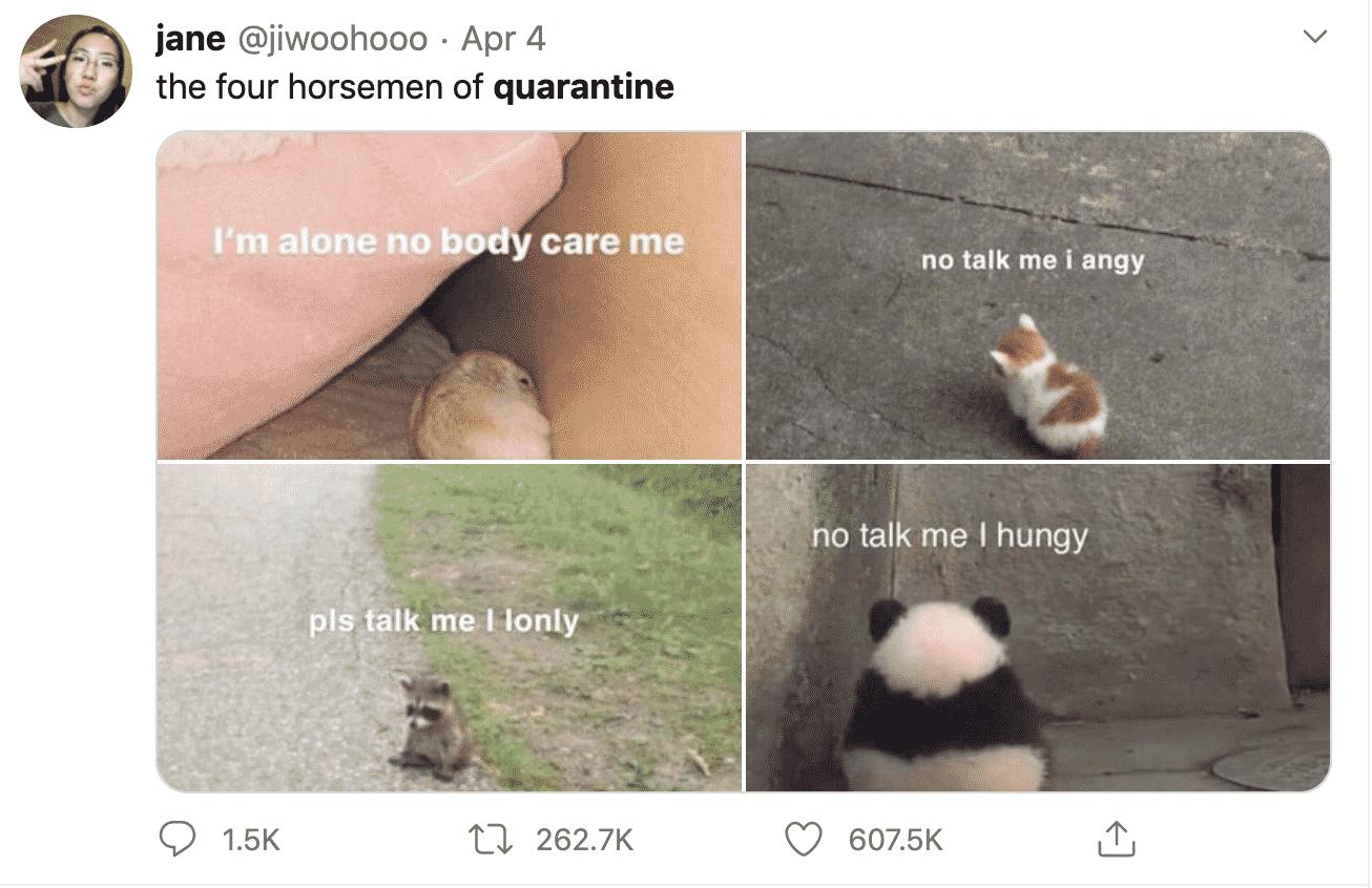funny quarantine tweets, funny lockdown tweets, funny tweets quarantine, funny tweet lockdown
