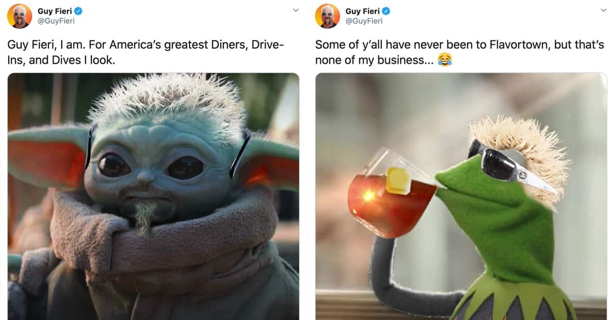 25 Guy Fieri Memes & Tweets From The Mayor Of Flavortown ...