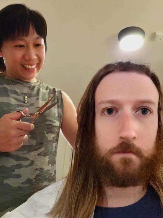 Mark Zuckerberg Got A Home Haircut And Was Instantly Meme D