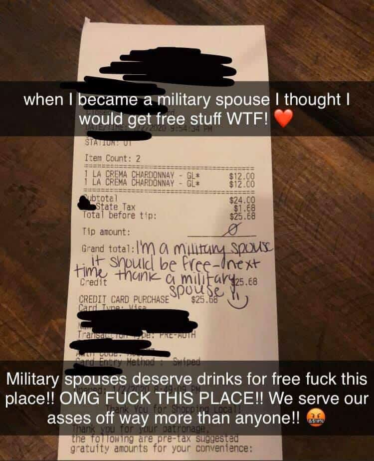military spouse tip