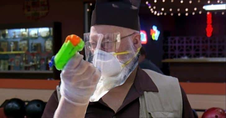 priest water pistol, priest water gun, priest squirt gun,