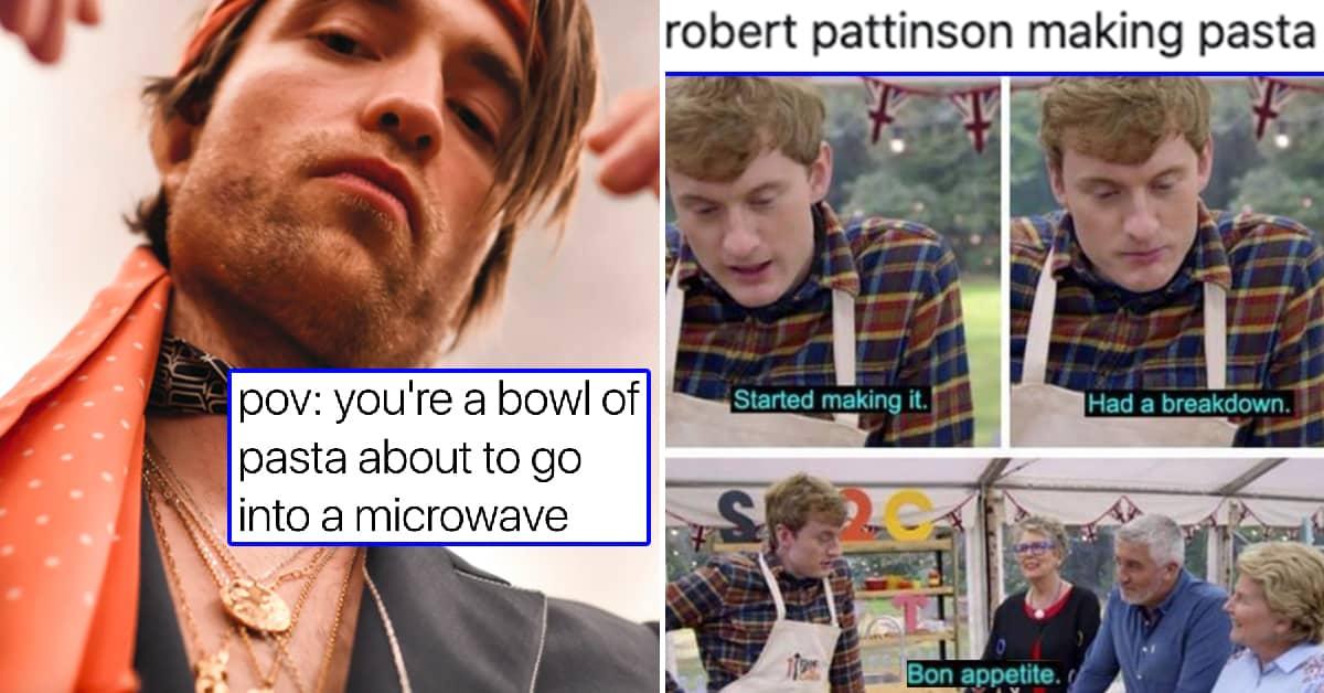 Robert Pattinson's Unhinged Pasta Recipe Has Become A Meme