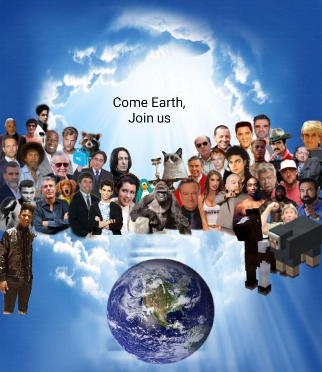 Come earth join us 2020 meme, join us 2020 meme