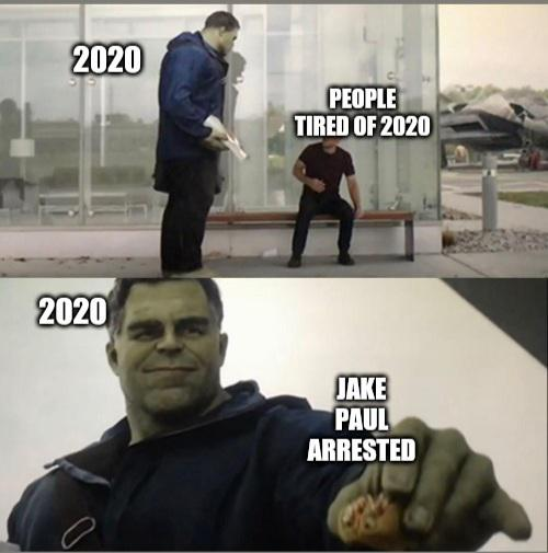 silver lining 2020 meme, hulk 2020 meme