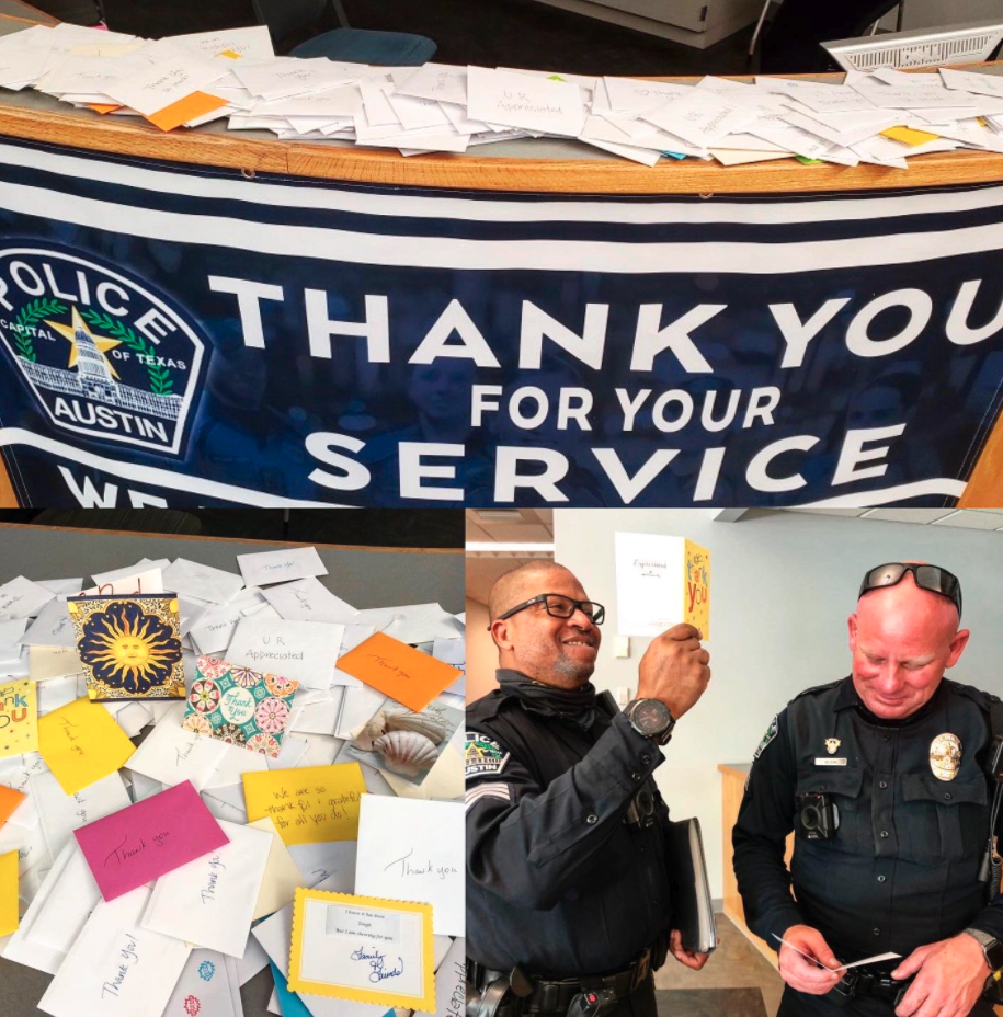 austin police thank you letters, austin police fake thank yous, austin police fake thank you letters, austin police fake thank you, austin police fake support, austin police fakes support, austin police fake support letters, austin police fake support cards, austin police fake thank you cards