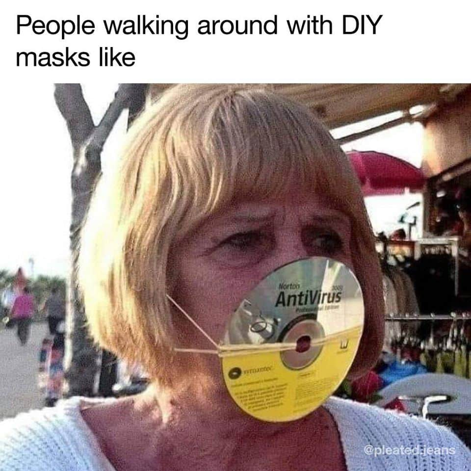 27 Funny Face Mask Memes You Can Laugh At Under Your Face Mask