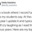 funny things kids say, teacher writes down funny things students say,