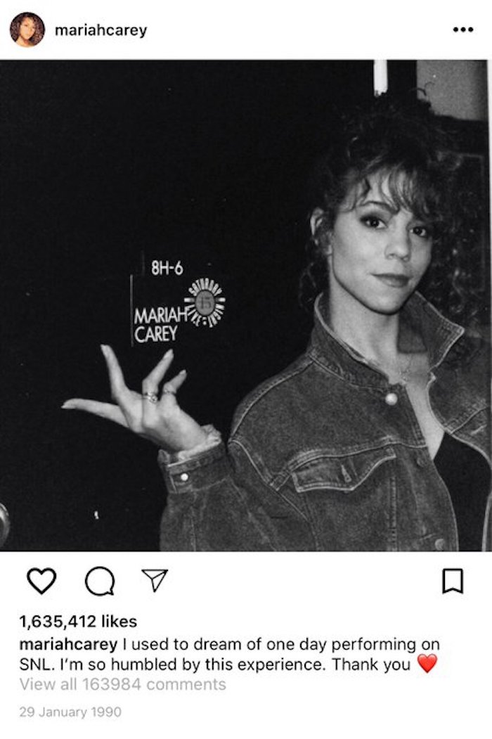 if mariah carey had an instagram in the 90s, mariah carey 90s instagram, if mariah carey had an instagram, instagram in the 90s mariah carey