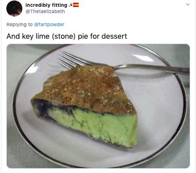 key lime pie rock, key lime pie stone, rock looks like key lime pie, stone looks like key lime pie, key lime rock, key lime stone, @thetaelizabeth stone, @thetaelizabeth rock, @thetaelizabeth key lime pie