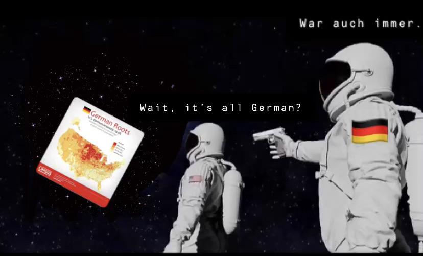 its all german meme, its all german astronaut meme, its all german astronaut gun meme