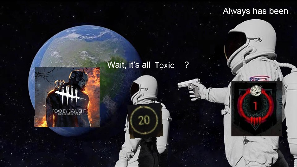 its all toxic meme, its all toxic astronaut meme, its all toxic astronaut gun meme