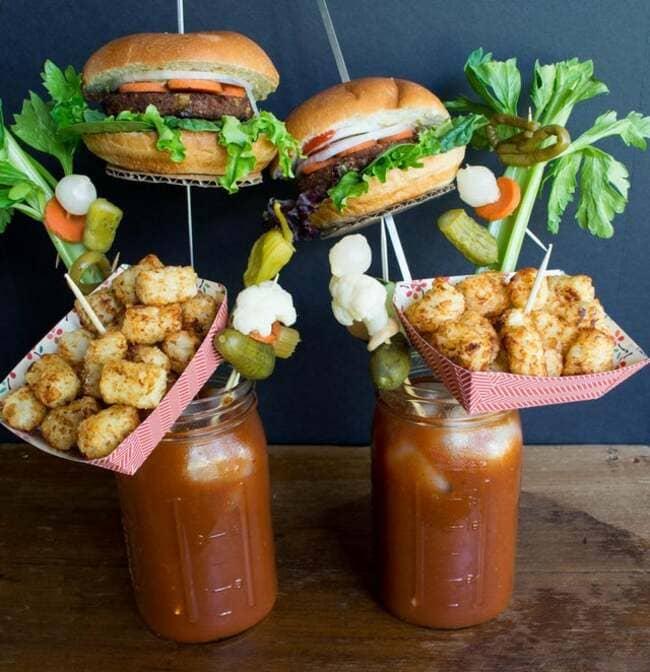 cool food presentation, cool way food is served, cool way to serve food
