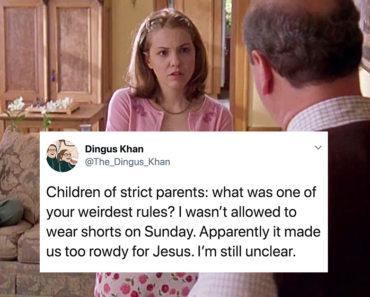 strict parents, strict parents rules, strict parents weird rules