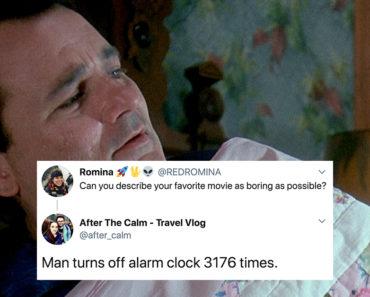 describe movies as boring as possible
