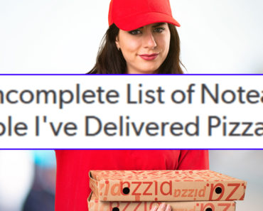 pizza delivery girl stories