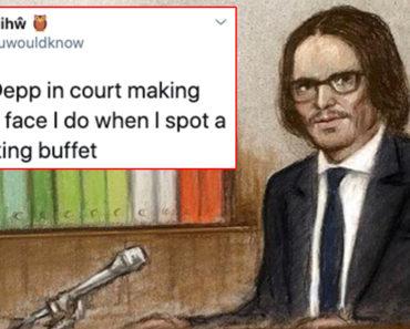johnny depp courtroom sketch