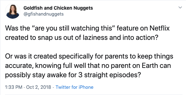 funny are you still watching netflix parenting tweet, funny netflix tweet, funny netflix tweets, netflix parent tweet, netflix parent tweets, netflix parent funny, funny netflix parent, funny netflix parenting, funny parents tweets netlfix, funny parent tweet netflix, funny netflix parent tweet