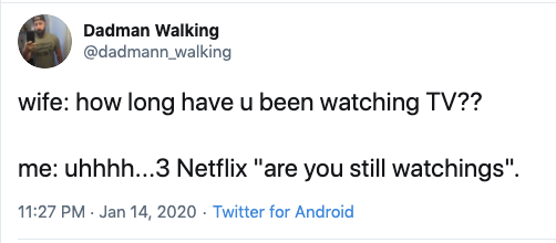 funny are you still watching netflix parent tweet, funny netflix tweet, funny netflix tweets, netflix parent tweet, netflix parent tweets, netflix parent funny, funny netflix parent, funny netflix parenting, funny parents tweets netlfix, funny parent tweet netflix, funny netflix parent tweet