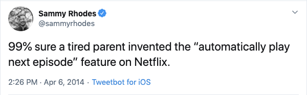 funny netflix autoplay parent tweet, funny netflix tweet, funny netflix tweets, netflix parent tweet, netflix parent tweets, netflix parent funny, funny netflix parent, funny netflix parenting, funny parents tweets netlfix, funny parent tweet netflix, funny netflix parent tweet