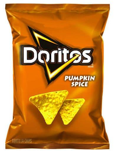 pumpkin spice doritos meme, doritos pumpkin spice meme, funny doritos pumpkin spice meme, funny doritos flavor pumpkin spice meme