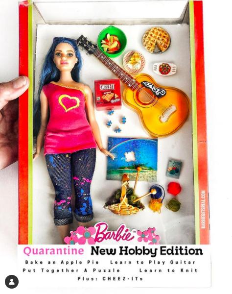 quarantine new hobby edition barbie