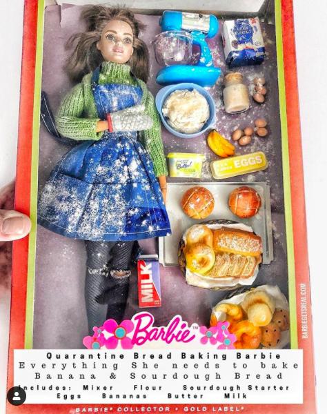 bread baking barbie, quarantine barbie, quarantine barbie doll, quarantine barbie dolls, quarantine barbies, funny barbie doll, funny barbie dolls, covid barbie, covid barbie doll, covid barbie dolls, corona barbie, corona barbie doll, corona barbie dolls, coronavirus barbie, coronavirus barbie doll, coronavirus barbie dolls, corona virus barbie, corona virus barbie doll, corona virus barbie dolls