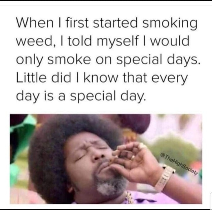 everyday is special stoner meme, everyday is a special day stoner meme, everyday is special weed meme