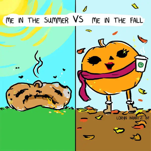 me in the fall meme, me dressed in the autumn fall meme, funny how i look in autumn fall meme, funny cartoon autumn fall meme
