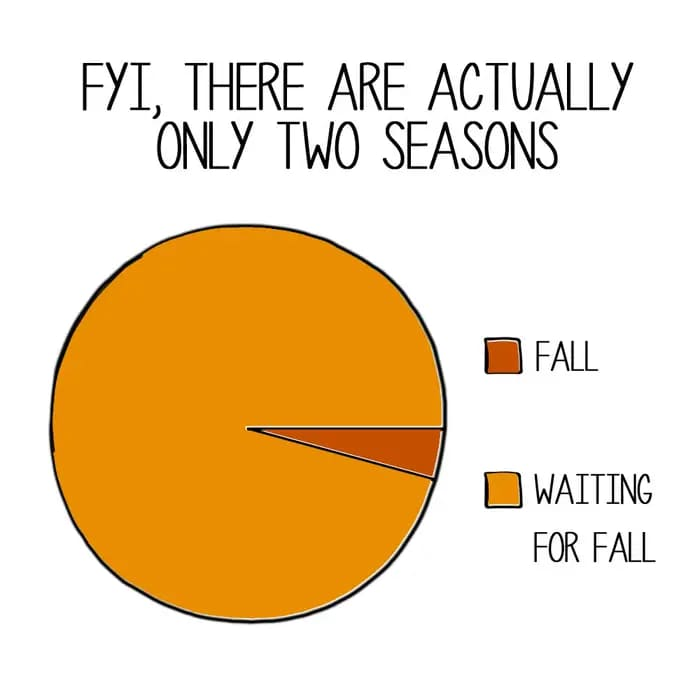 only two seasons autumn fall meme, funny only two season autumn fall meme, there are only two seasons autumn fall meme, funny there are only two autumn fall meme