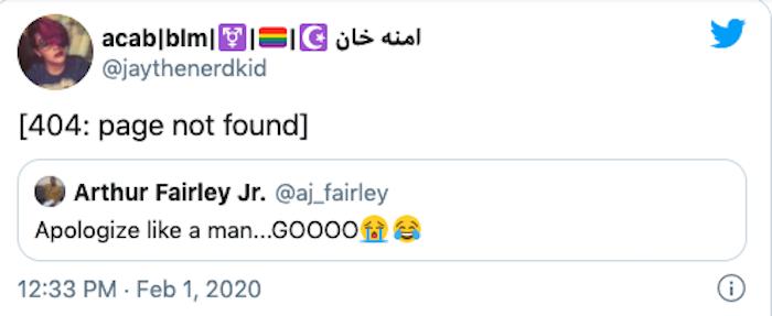 apologize like a man, apologizing like a man, how men apologize, @aj_fairley apologize like a man, example of men apologizing, examples of men apologizing, men apologizing @aj_fairley