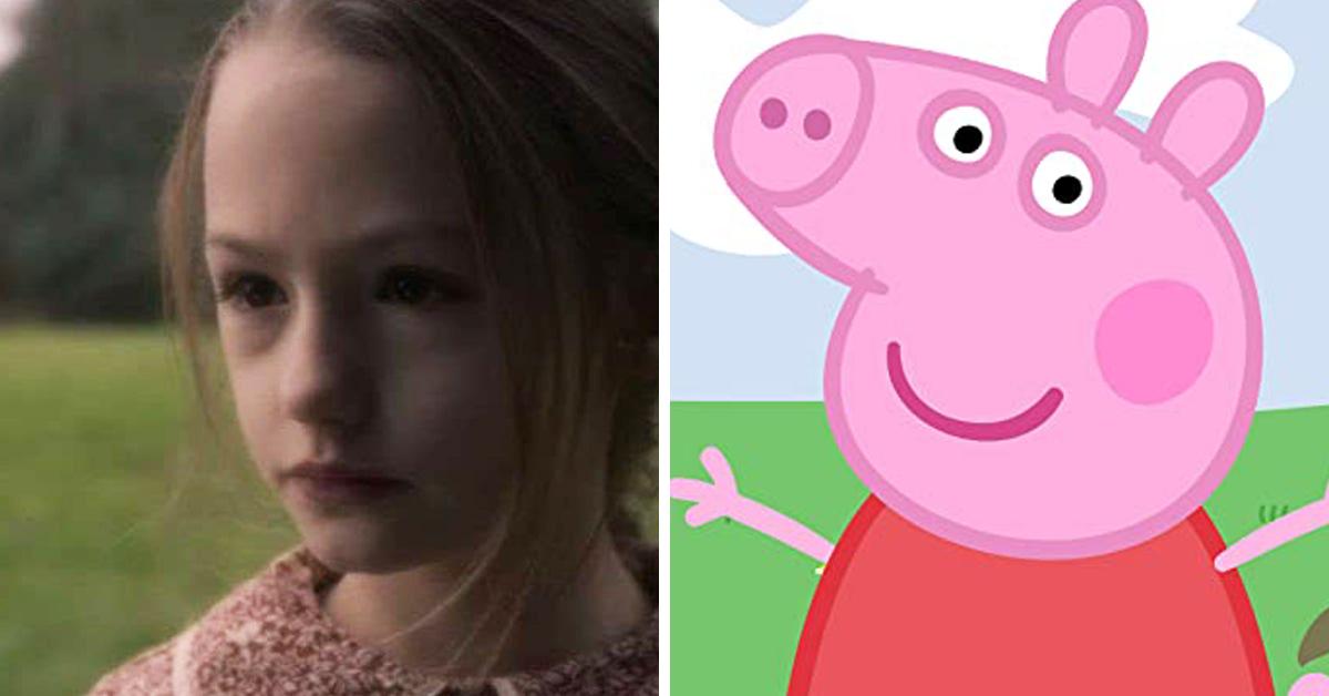 peppa pig bly manor, bly manor peppa pig, peppa pig haunting of bly manor, haunting of bly manor peppa pig