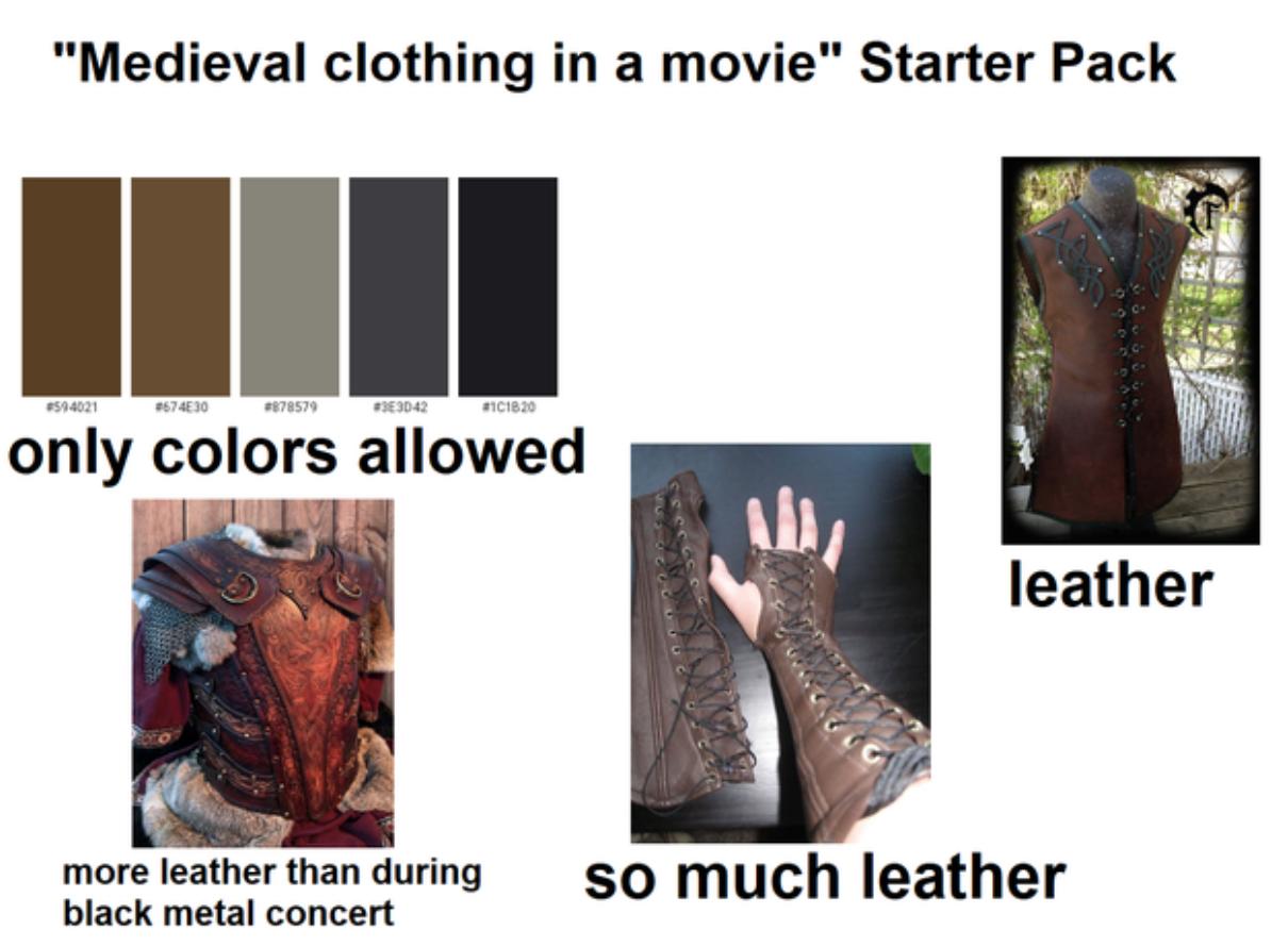 Movie starter packs, tv starter packs