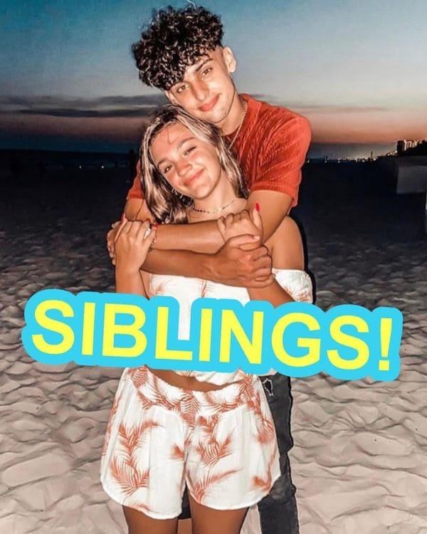 Siblings or dating