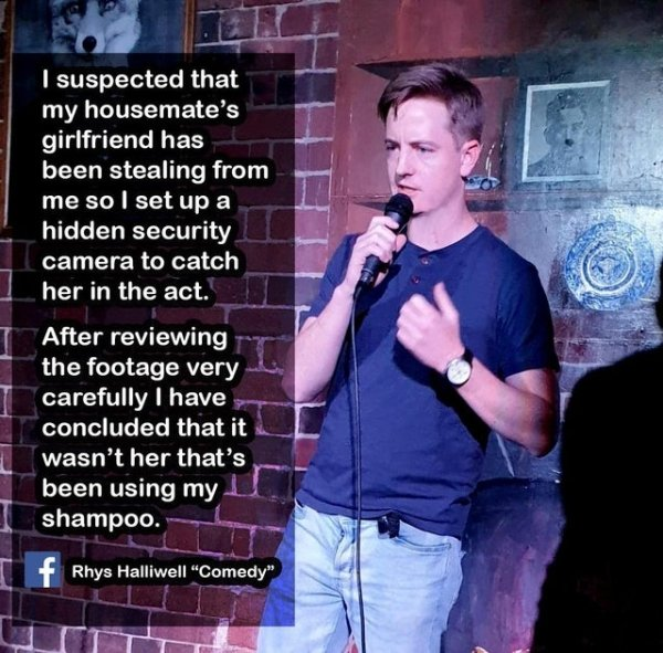 Enjoy Stand-Up Comedy While Sitting At Your Computer (24 Jokes) 16