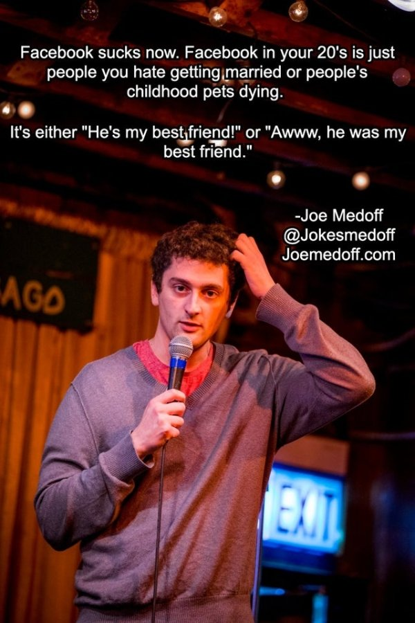 Enjoy Stand-Up Comedy While Sitting At Your Computer (24 Jokes) 22