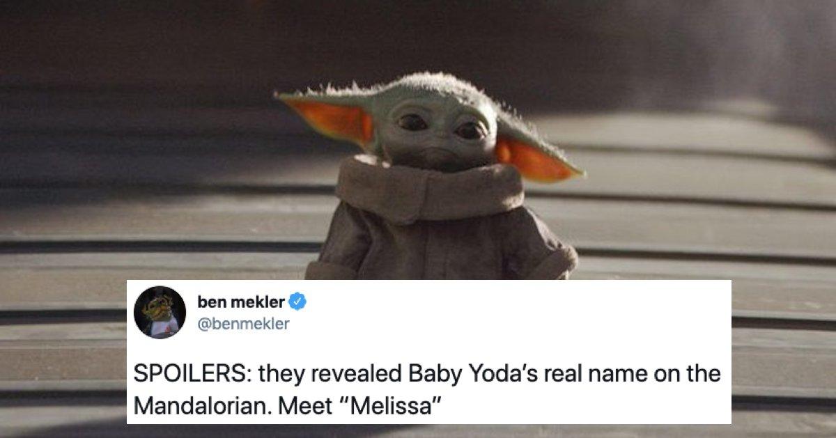 baby yoda name, baby yoda real name, baby yoda name meme, baby yoda name reveal