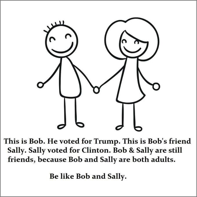 "People Are Mocking The ""Bob & Sally"" Meme With More Memes (18 Pics) 9"