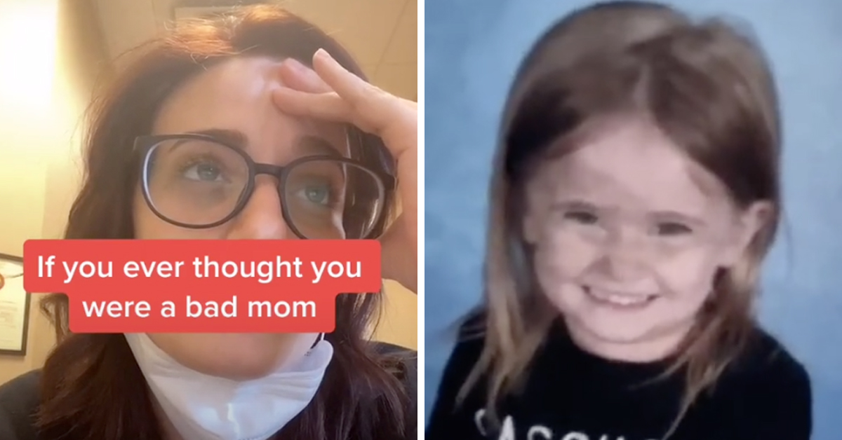 Mom Goes Viral For Daughter's Hilarious School Picture Fail