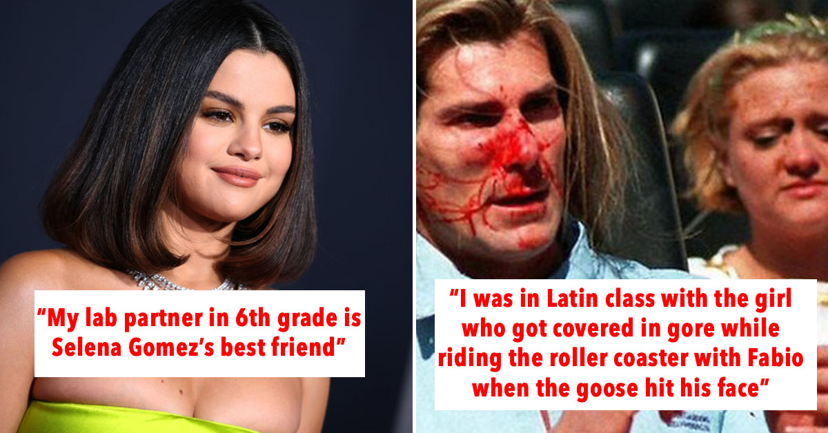"""People Are Sharing The Weakest And Most Hilarious Ways They're """"Connected To Celebrities"""""""